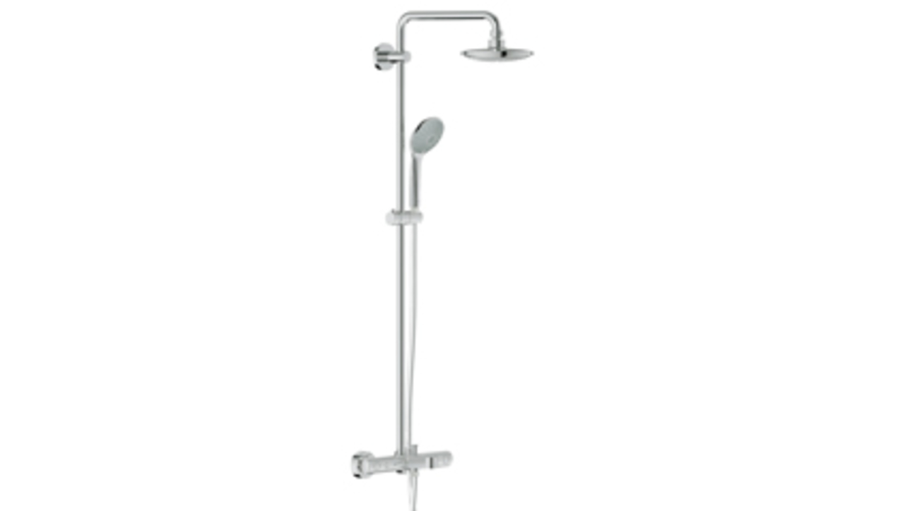 Grohe', Euphoria shower systems, Grohe DreamSpray