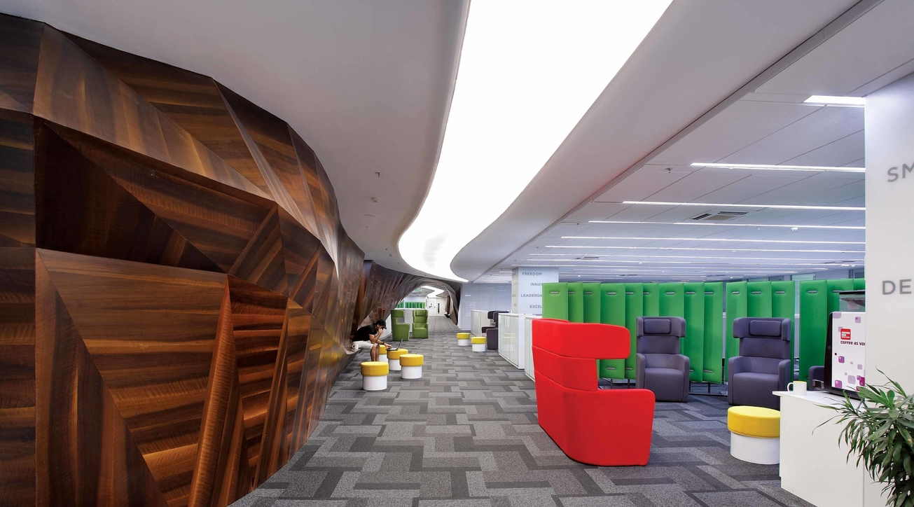 Clariant Chemicals office, Planet 3 Studios, Kalhan Mattoo, Santha Gour Mattoo, Office design