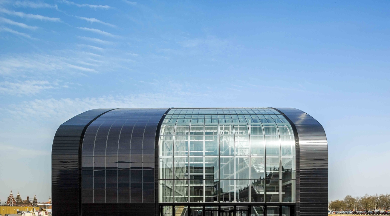 AHEC, Brussels Environment Agency, Cepezed, Office building', Europe's largest entirely passive office building