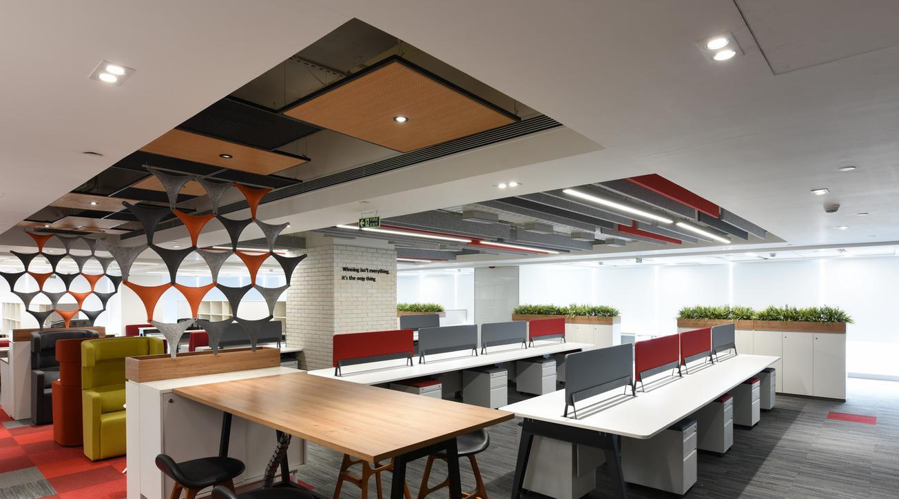 Zydus, Office design, ANJ Group, Design build