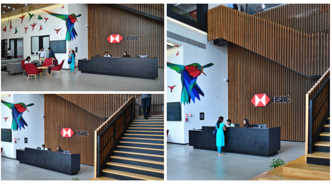 HSBC, HSBC India, Bangalore East Campus, Bangalore, Office design, Arun Kumar, Country Head, Corporate real estate