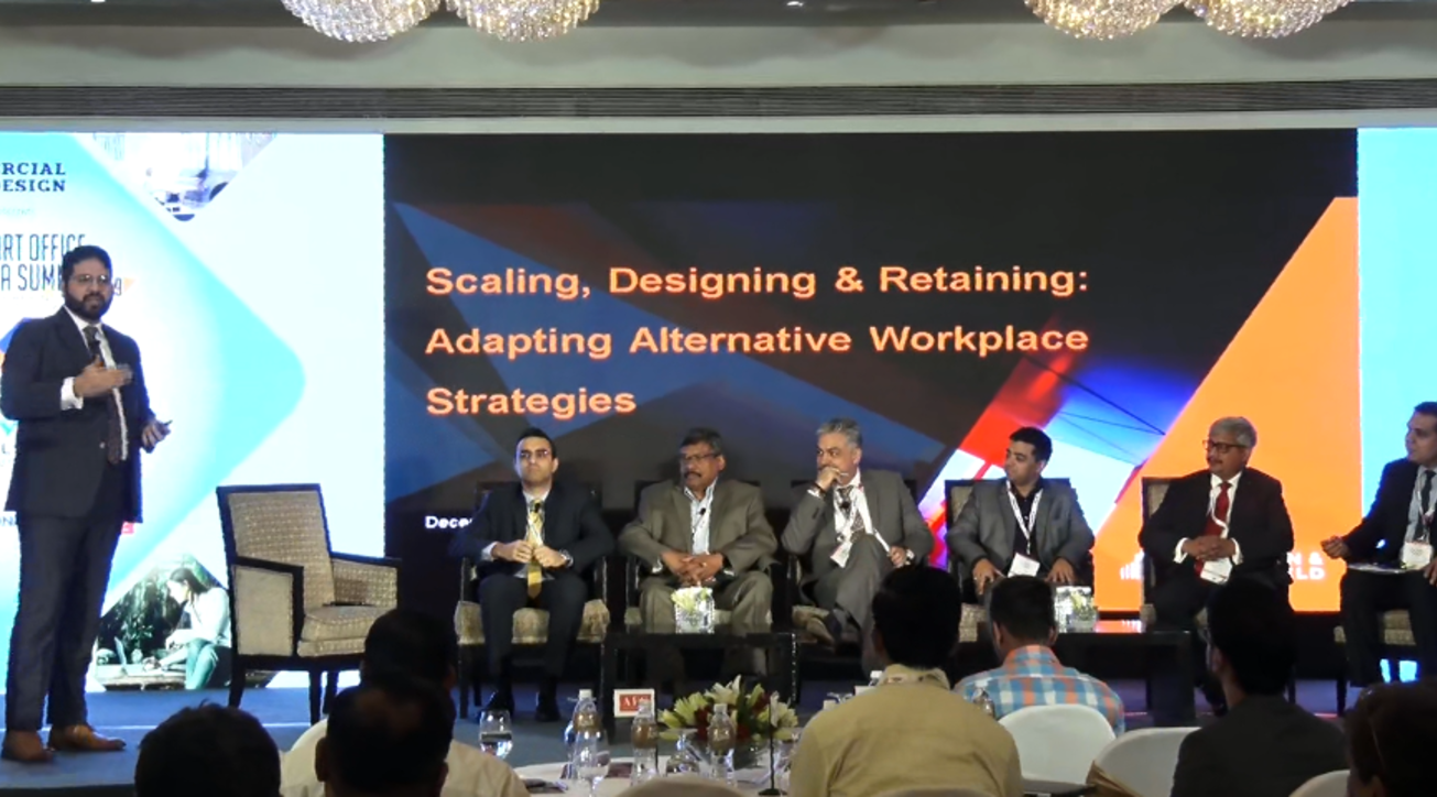 Smart office summit india 2019, Panel discussions, CBRE India, M Moser Associates, Knight Frank India, Cushman & Wakefield, Colliers International, Marsh Risk Consulting, Welspun Flooring