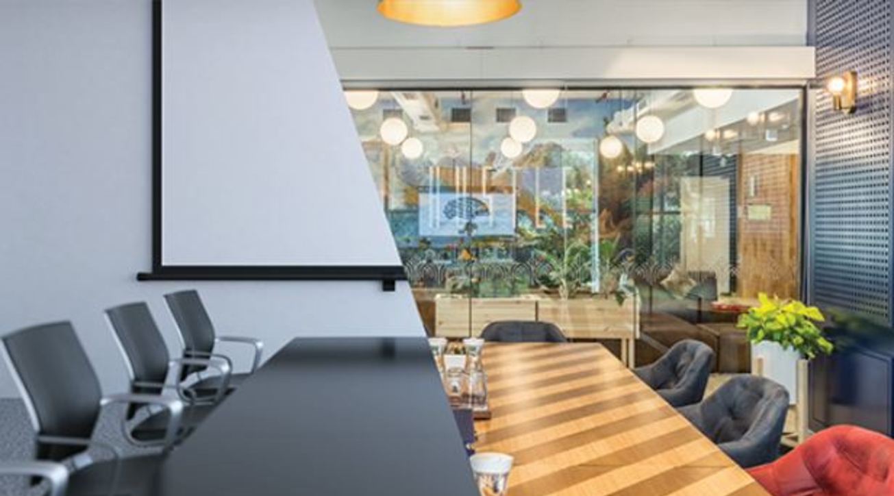 CoWrks, Co-working space provider, Meeting rooms, Design, Function, Office design, Room size, Technology, Comfort, Creativity