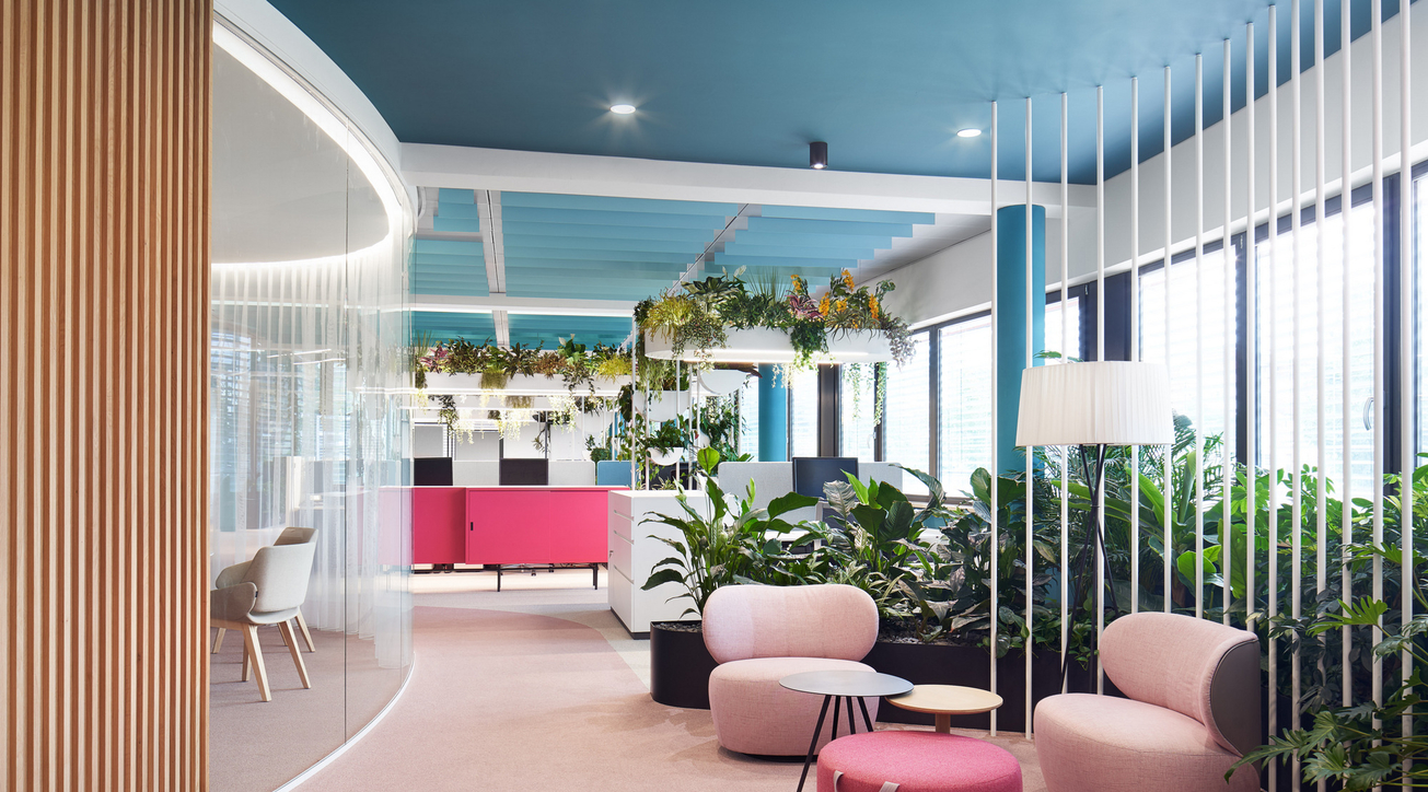 The Maldives of design, Workspace, Roman Klis Design, The yippee principle, Workplace oasis