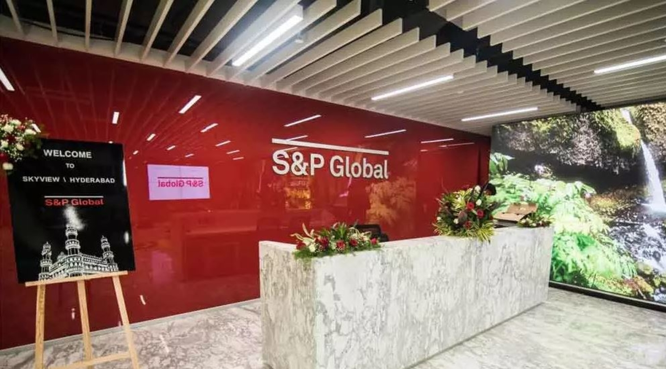 S&P Global, LEED certification, Gold rating, USGBC, Green building, Office space, Hyderabad