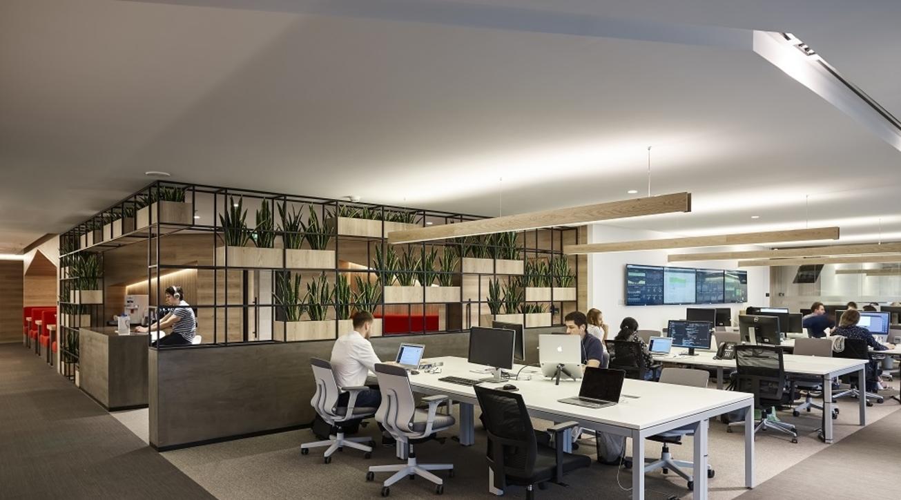 Property Finder, Swiss Bureau Interior Design, Office design, Contemporary, Dubai Media City, Open work stations, Collaboration booths