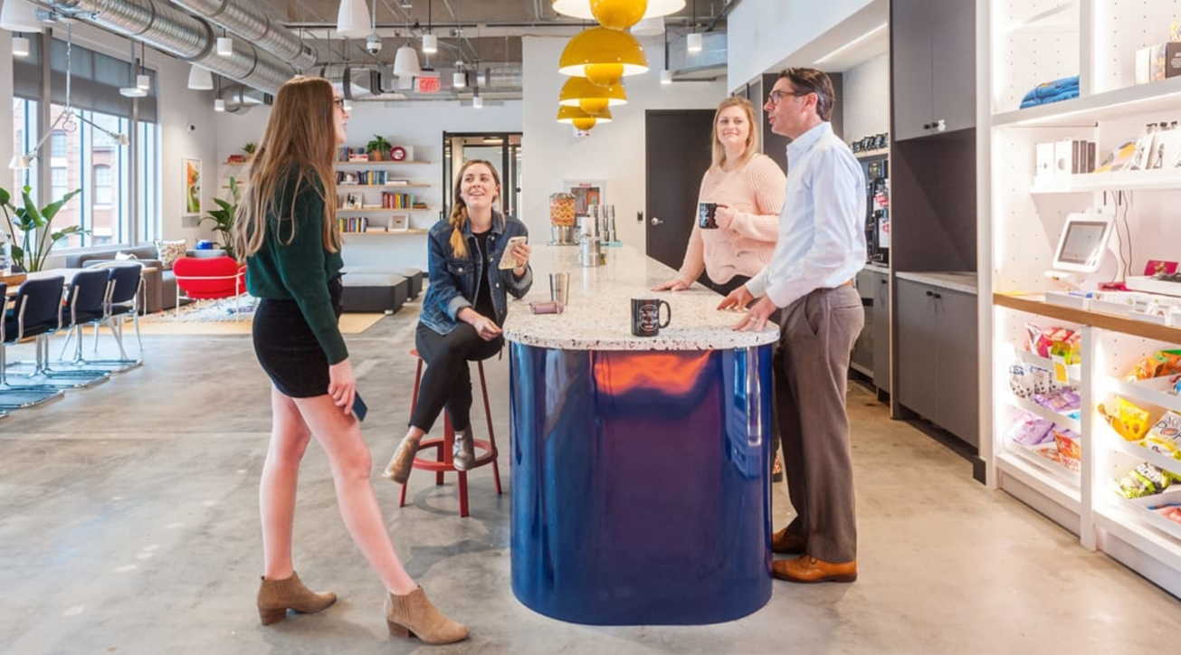 Wework, Insight, Stand-up meeting, Standing desks, Work life, Work culture, Productivity