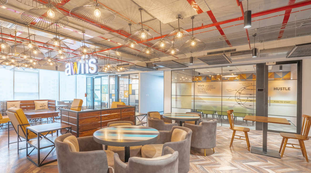 Awfis, Mid-sized enterprises, Coworking, Work culture, Bottom line, Modern workplace, Office design