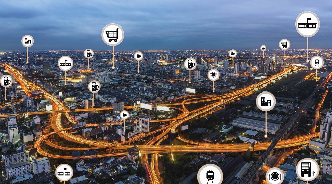 Smart city', Smart city infrastructure