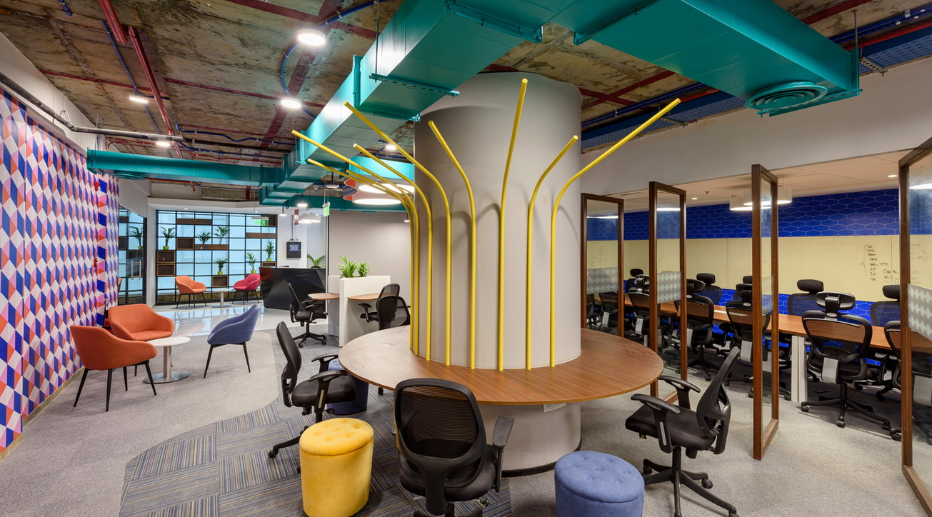 Beyond Design Architects, Workflo, OYO, Coworking spaces