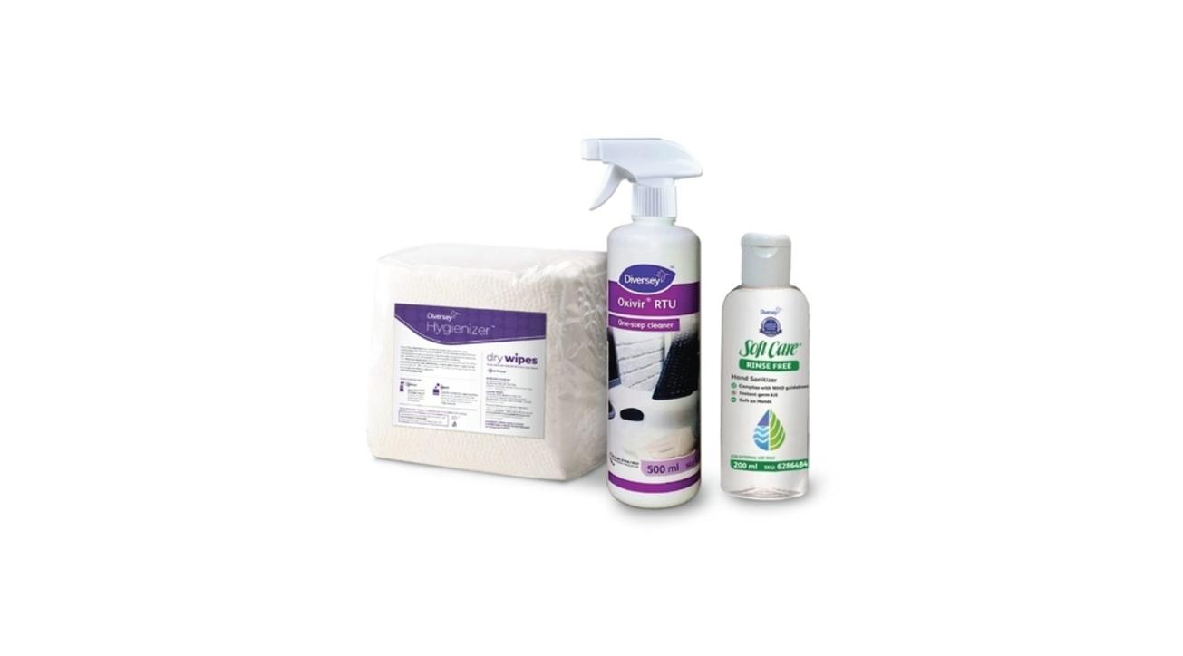 Diversey Hygienizer kit, WORKSPACE HYGIENE