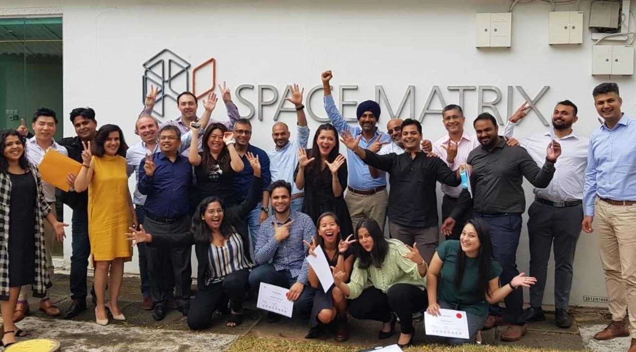 Space Matrix's Global Leadership Team