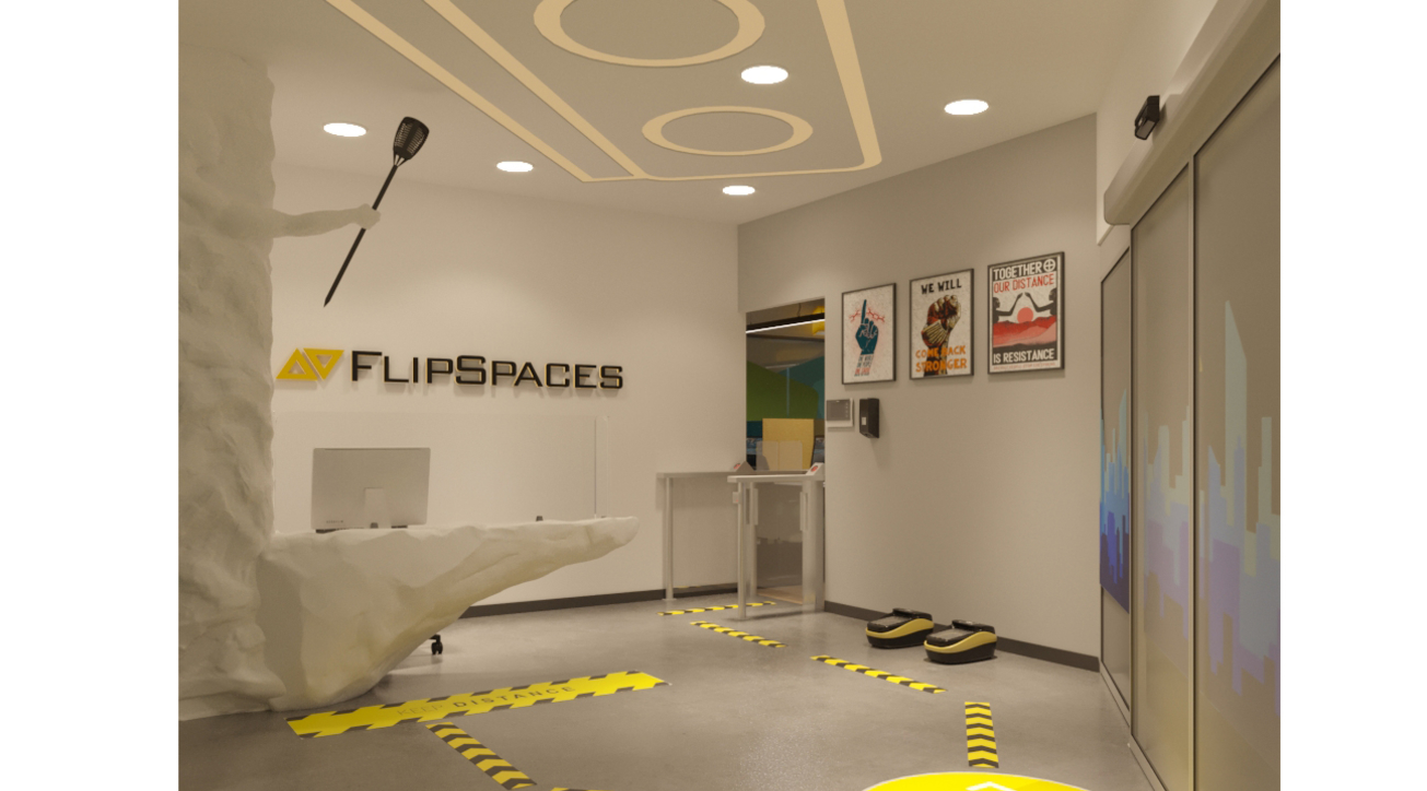 Flipspaces, REBOOTSPACES, Modern office furniture