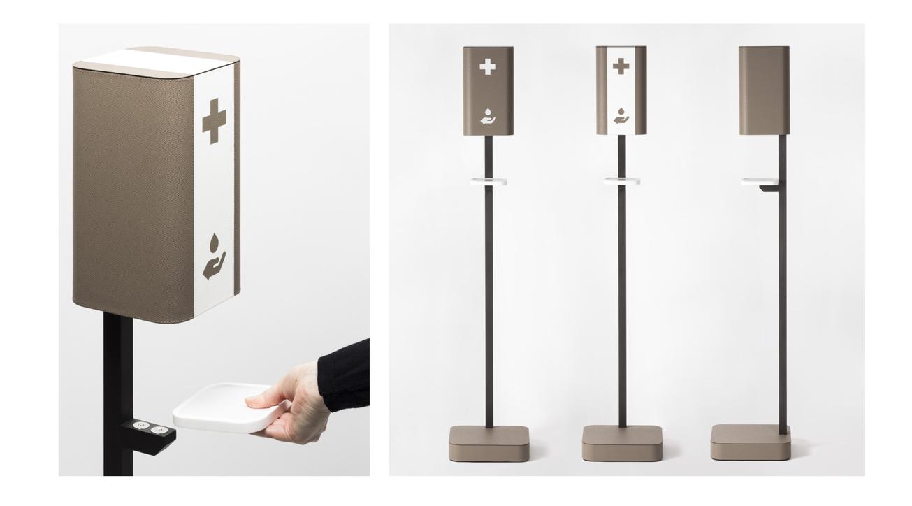 Giobagnara, Hand sanitizer dispenser