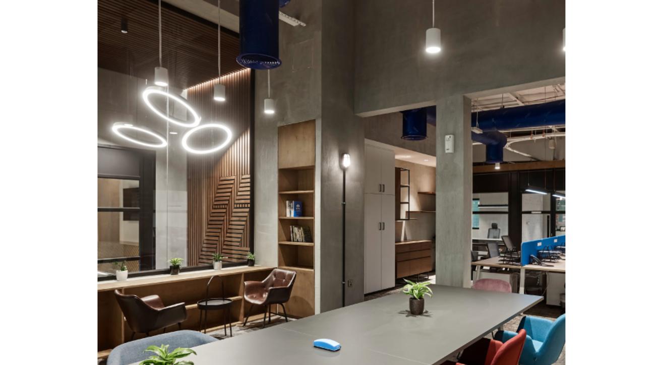 Swiss Bureau Interior Design, Hira industries, Modern office design