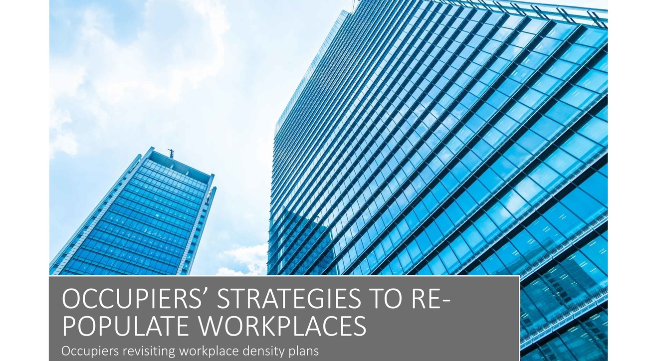Colliers International, Workplace design, Covid impact