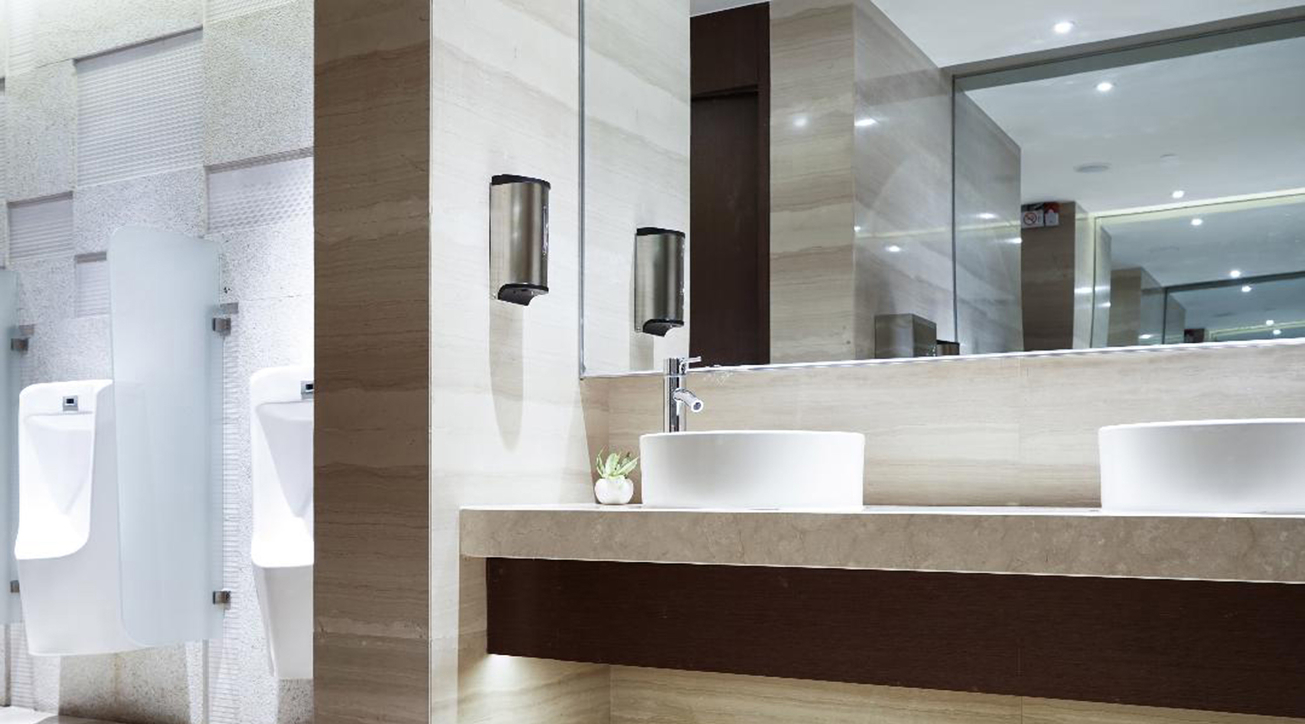 Washroom hygiene, Smart washrooms, Technology in washrooms