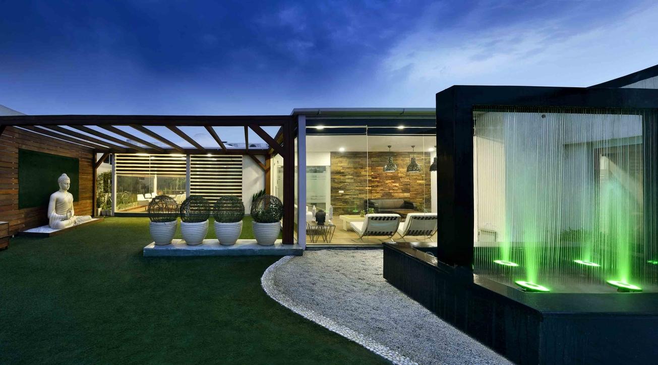Office design, Zen office design, AVG architecture, Landscape design