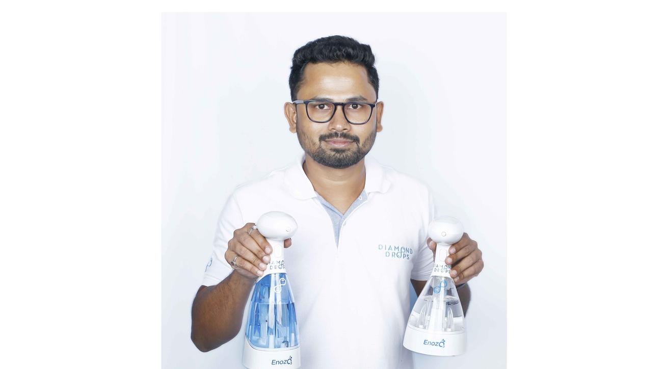 Harish HP, Founder & CEO of Diamond Drops.
