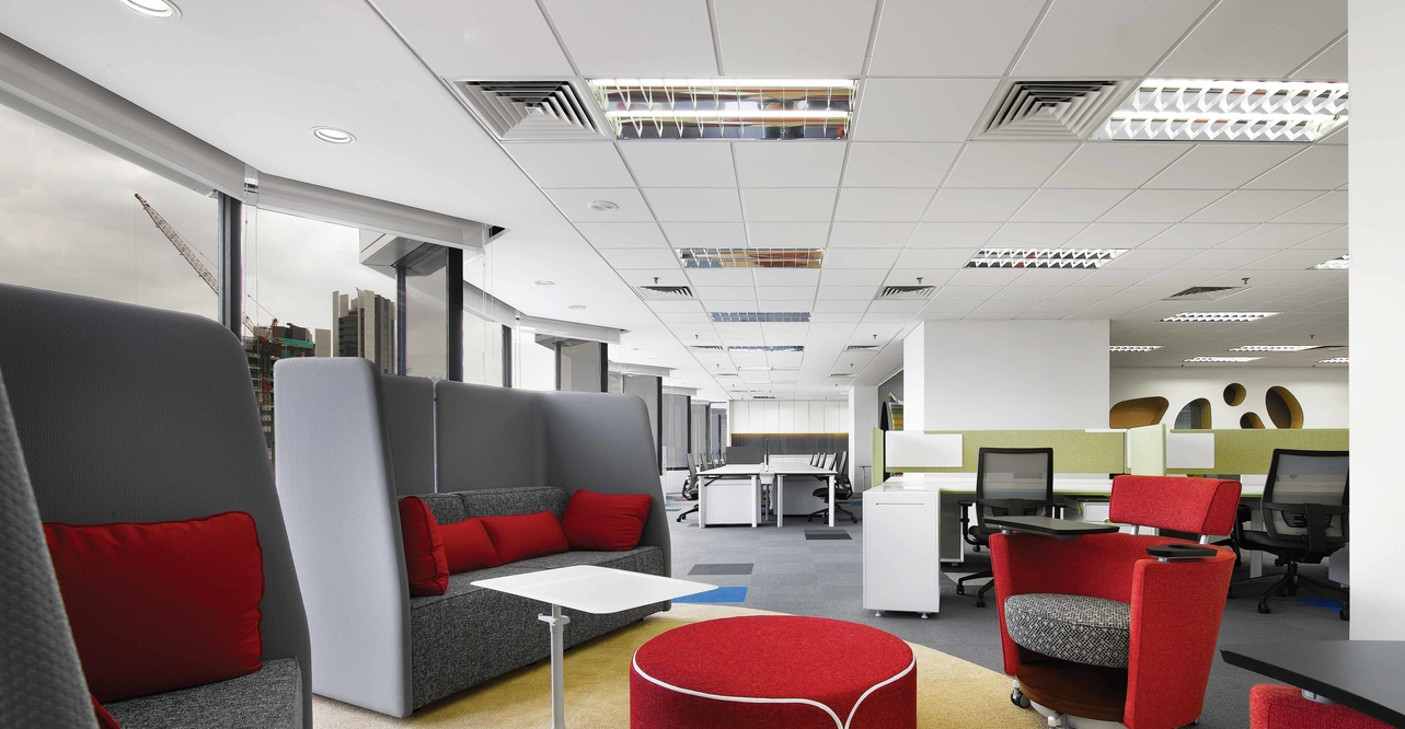 Sherwin-Williams Asian headquarters by M Moser Associates
